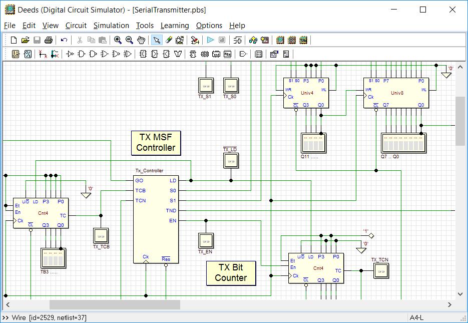 Deeds digitális technika szimulátor program